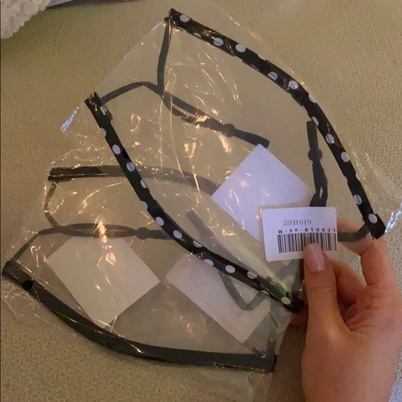 Pair of 2 Clear Face Masks
